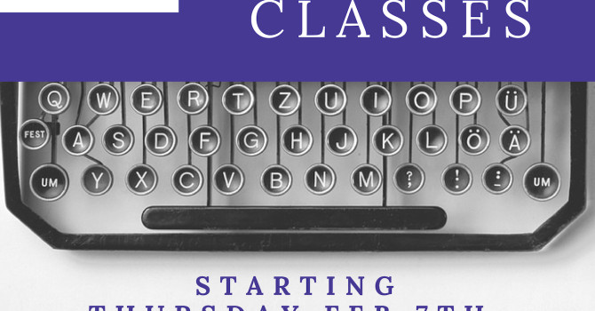 Creative Writers Classes