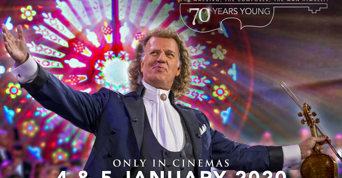 Andre Rieu- 70 Years Young – January 4th & 5th 2020