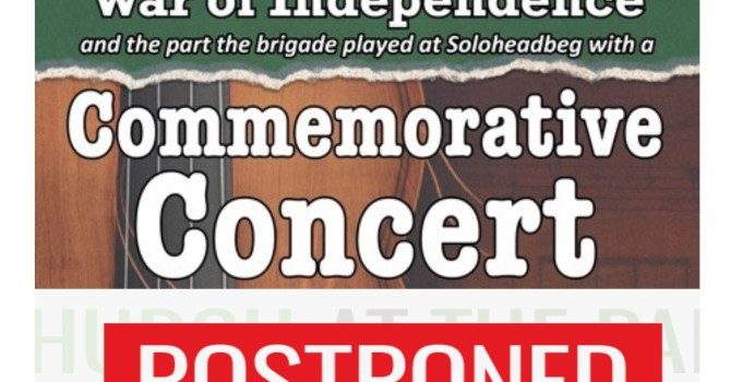 Commemorative Concert ** Postponed Until Further Notice Due to Weather Warning **