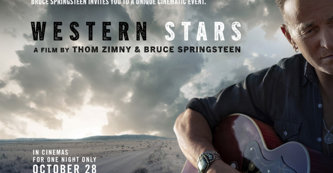 BRUCE SPRINGSTEEN – WESTERN STARS – OCTOBER 28TH – 8PM